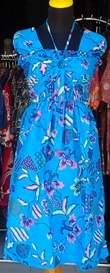 DK456_batikpekalongan_dress_katun_kerut_tali_kembang_ghifa