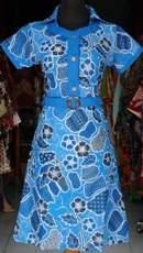 DK465_batikpekalongan_dress_katun_kerut_kerah_kancing_kembangbatu_ghifa