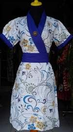 DK479_batikpekalongan_dress_katun_selempang_sekarrambat_ghifa