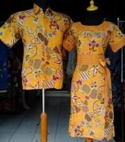 SD530_batikpekalongan_sarimbit_dress_kerahbulat_sekarrambat_ghifa