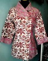 BK695_batikpekalongan_blus_katun_kimono_megamendung_mahadewi