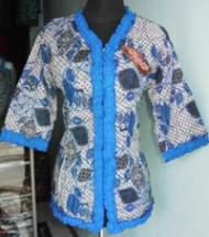 BK886_batikpekalongan_blus_katun_tigaperempat_fathur_rosela