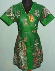 DK954_batikpekalongan_dress_katun_wiru_kembang_khisyam