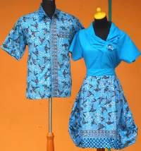 SD1040_batikpekalongan_sarimbit_dress_pramugari_bunga_firju