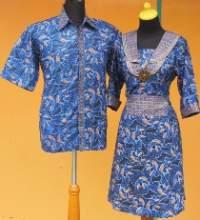 SD1059_batikpekalongan_sarimbit_dress_kerahsusun_ikankoi_dafa