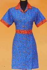 DK1090_batikpekalongan_dress_katun_kerut_daunkelor