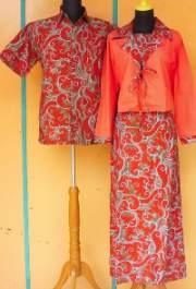 SL1131_grosir_batik_pekalongan_sarimbit_gamis_rompi_dafa_oranye