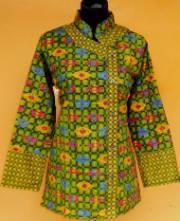BK1311_grosir_batik_pekalongan_blus_katun_kimono_anyaman_gifel
