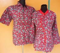 SB1396_batikpekalongan_sarimbit_blus_kimono_godong_lirda