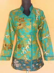 BK1526_grosir_batik_pekalongan_blus_katun_megamendung_firju
