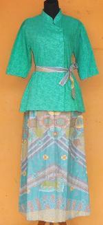 Rb1596 Grosir Batik Rnb Embos Baju Batik Pekalongan Murah
